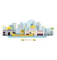 brunei landmarks skyline vector image