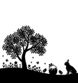easter land vector image
