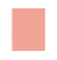 paper sheet icon vector image