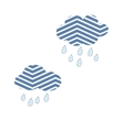 Clouds Sky Abstract Rain Nature Storm Cute vector image