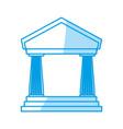 bank business finance vector image