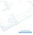 Background with blueprint vector image