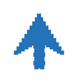click cursor symbol vector image
