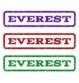 everest watermark stamp vector image