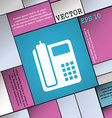 home phone icon sign Modern flat style for your vector image