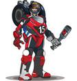 robot motor vector image