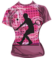 Tennis T-shirt vector image