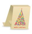 christmas tree2 vector image