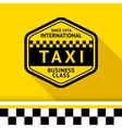 Taxi badge 12 vector image