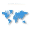 Abstract Earth Map vector image