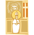 Pope and Christian Images vector image