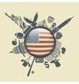 The Symbol Of America vector image