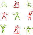 Sport figures vector image