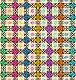 Seamless pattern of colorful ornament vector image