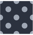 seamless polka dots textured pattern vector image