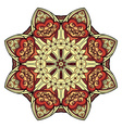Beautiful Deco Colored Mandala vector image