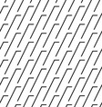 Black and white seamless pattern modern stylish vector image