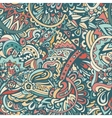 Seamless pattern doodle background vector image