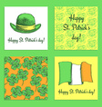 Sketch set of St Patricks day posters vector image