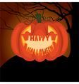 Poster Halloween night vector image vector image