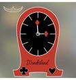 Alice Clocks from Wonderland World vector image