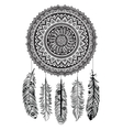 Ethnic Dream catcher vector image