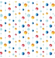 abstract hanging jewels striped seamless pattern vector image