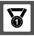 First medal icon from Award Buttons OverColor Set vector image