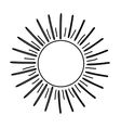 Sun burst light vector image