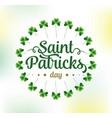 happy saint patricks day vector image