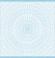 polar coordinate circular grid graph paper vector image