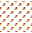 chicken legs pattern seamless vector image