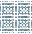 gears icons seamless pattern background vector image
