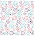 pattern flower ornate3 vector image