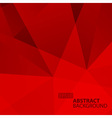 Abstract Geometric Red Background vector image