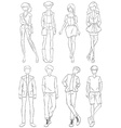 Clothings vector image