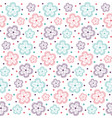pattern flower ornate3 vector image