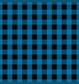 blue tablecloth seamless pattern vector image