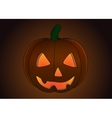 Halloween Pumpkin isolated vector image