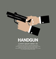 Semi-Automatic Handgun vector image