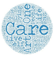Physician Assisted Suicide and The Art of Care vector image