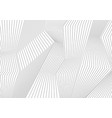 abstract grey lines refraction background vector image