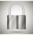 lock metal vector image