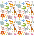 children seamless wallpaper with cute and vector image