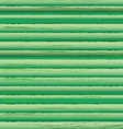 Timbered wall green pattern vector image