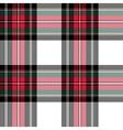 dress stewart tartan fabric texture seamless vector image