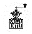 Coffee related vintage with vector image