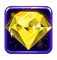 The application icon with gems 3 vector image