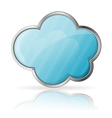 Cloud vector image vector image