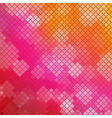Mosaic Pink Background vector image